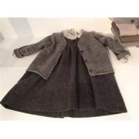 China High quality Yarn Dyed Casual pure cotton baby girl dresses knitted for  6 years on sale
