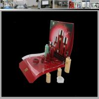 Buy cheap lotion cosmetic womens cosmetic slots acrylic display case from wholesalers