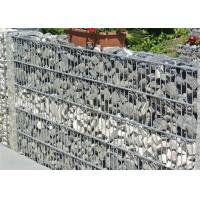China 50x50mm Welded Wire Gabions Mattress / Welded Gabion Stone Cage Box on sale