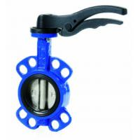 Cheap DN100 PN16 Iron Wafer Worm DIN Lug Butterfly Valve for sale