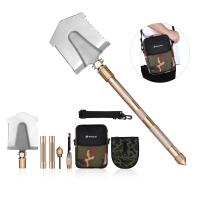 Cheap Multifunctional Outdoor Leisure Products All In One Military Shovel Foldable And Portable for sale