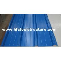 Cheap High Strength Steel Plate Metal Roofing Sheets With 40 - 275G / M2 Zinc Coating for sale