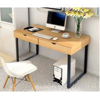 Cheap Commercial Furniture Home Office Computer Desk With Hutch Chrome