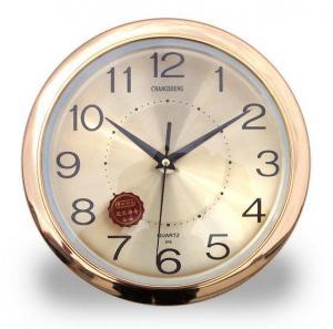 Cheap Aluminum Dial Plastic Quartz Wall Clock No. 916 for sale