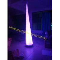 Cheap colorful inflatable cone for sale for sale