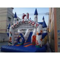 Cheap Fairy Tale Style Kids Commercial Inflatable Slide With Jumping Castle Bouncer Combo for sale