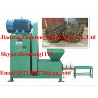 China rice stalk briquette making machine / sawdust briquette making machine    (skype:zhoufeng1113) on sale