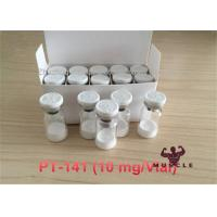 Cheap Protein Peptide Hormones Bremelanotide /PT141 / PT-141 Treat Female Sexual Dysfunction CAS.32780-32-8 /189691-06-3 for sale