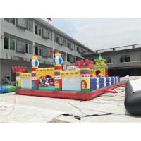 Cheap Commercial Inflatable Playground Amusement Park Bouncer Slide For Kids for sale