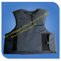 Cheap black color hot sale security bullet proof vest armor vest for sale