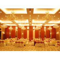 Cheap Conference Room Folding Partition Walls Customers Own Material Finish for sale
