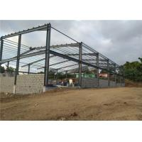 Cheap Prefab Metal Buildings Steel Structure Building With Sandwich Panel for sale