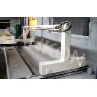 Turn over table and waste cleaning machine attached