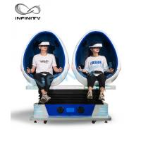 Cheap INFINITY Amusement Equipment 9D VR Cinema / Virtual Reality Simulator Games For Theme Park for sale