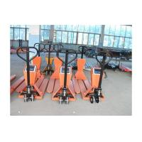 Cheap For oil cylinder and oil channel PTD-2500ES powered pallet truck with scale for sale