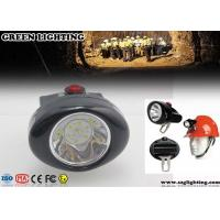 Cheap 1W 4000 Lux CREE Cordless Mining Lights 2.8Ah Rechargeable Li - Ion Battery for sale