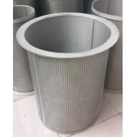 Buy cheap High temperature dust removal sintering mesh filter cartridge from wholesalers