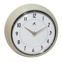 China ET6218A LCD digital wall clock with analog display on sale