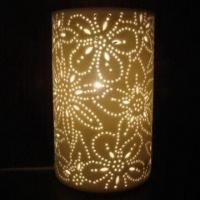 Buy cheap Ceramic table lamp, special design for home and romantic decorations from wholesalers