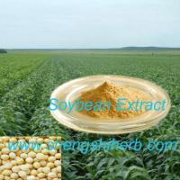 Cheap Soybean Extract (Isoflavones 10%-90%) for sale