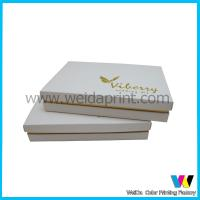 Buy cheap Eco-friendly Black and Gold Luxury Cardboard Paper Packaging Box from Wholesalers