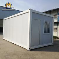 China Economical Modular Sandwich Panel Container House Quick On Site Assembly on sale