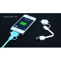 Cheap Blue Long 8 Pin Micro USB Charger Cable , Hi-Speed USB 2.0 Cable For IPhone4s for sale