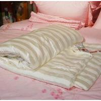 China 100% Natural Silk-filled Quilt with Cotton Cover on sale