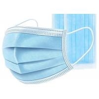 Cheap Non Woven Disposable Mouth Mask High Breathability For Personal Protective Use for sale
