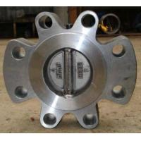 Cheap Lug Typle Double Disc Check Valve for sale