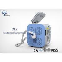 Cheap Permanent 808nm Diode Laser Hair Removal Machine / Body Hair Removing Machine for sale