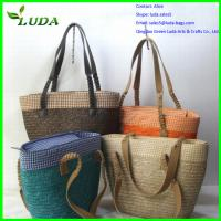 Cheap various beautiful straw bags for sale
