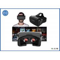 Cheap Wearable 3D Video Glasses VR BOX Headset Adjustable Strap CE ROHS Reach Approved for sale
