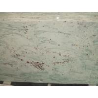 China Bathroom White And Grey Quartz Countertops , Pre Made Bathroom Vanity Tops Slab on sale