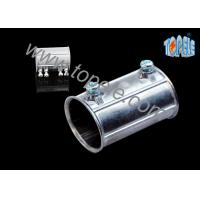 Cheap Custom Electrical Conduit Fittings Zinc EMT Coupling Used Indoors And Outdoors wholesale