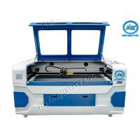 Cheap Dual Laser Head Co2 Textile Laser Cutting Machine With CCD Camera for sale