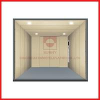 China Load 1000-5000kg Freight High Speed Elevator With Personalized Car Decoration on sale