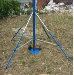 Cheap teleskopski jarbol potable telescopic 9 meters high portable high aluminum tube mast antenna tower for sale