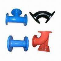 Buy cheap Ductile Iron Flanged Pipe Fittings, Available in Various Packaging Ways, Coating and Standards from wholesalers