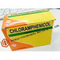 Chloramphenicol Capsules 250mg Finished Medicine , Organic Gelatin Capsules For Bacterial Infections