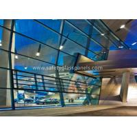 Cheap 6.38-40.38mm Double Glazed Clear Laminated Safety Glass for Large Display Window wholesale