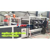 Cheap plastic PVC+ASA two layer light weight colony roof tile/roofing sheet production line for sale