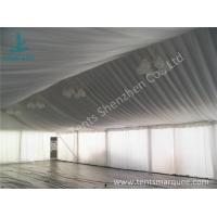 Cheap Air Conditioning Outdoor Event Tent , Beautiful Outside Event Tents Luxury Linings for sale