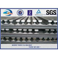 Cheap UIC50 UIC54 UIC60 Track Railway Heavy Steel Crane Rail 12 - 25m for sale