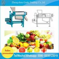 Cheap Professional Screw Type Juice Cup Machine Extractor can filling line ginger juice for sale