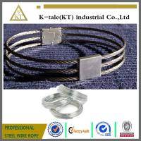 Cheap 3-strand collar /stainless steel wire rope slave collar for sale