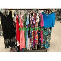 China For Africa , used women's clothing , ladies cotton dresses , first grade second hand clothes on sale