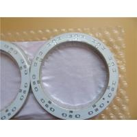 Buy cheap Single Sided LED PCB Built On 1.5mm FR-4 With White Solder Mask from wholesalers