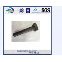 Cheap Q235 5.6 8.8 Class HS26 / HS32 Railway Bolt And Nuts UIC864-2 for sale