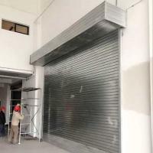 Cheap Protection Rolling Door Sliding Door Roll up Garage Door for/Vehicles/Cars/Buildings for sale